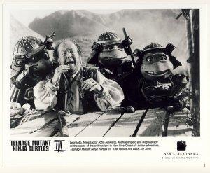 Leonardo, Raphael & Donatello Promo Press Photo - Ninja Turtles 3 - TMNT