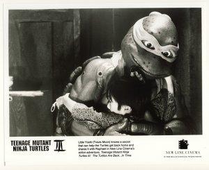Raphael & Yoshi Promo Press Photo - Ninja Turtles 3 - TMNT