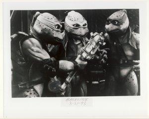 Donatello, Raphael & Leonardo Promo Press Photo - Ninja Turtles 3 - TMNT