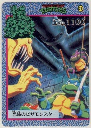 TMNT Japanese Trading Card - PP Card #23 - Teenage Mutant Ninja Turtles