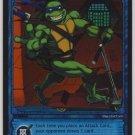 TMNT Trading Card Game - Foil Card #18 - Kickboard - Ninja Turtles