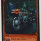 TMNT Trading Card Game - Foil Card #62 - Shell Cycle - Ninja Turtles