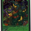 TMNT Trading Card Game - Foil Card #30 - Combination Attack - Ninja Turtles