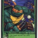 TMNT Trading Card Game - Uncommon Card #25 - Michelangelo - Ninja Turtles