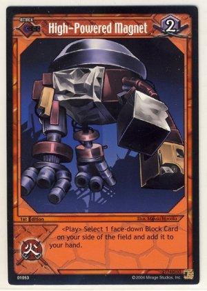 TMNT Trading Card Game - Uncommon Card #53 - High-Powered Magnet - Ninja Turtles