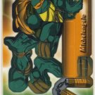 TMNT Trading Card - 3D Model Michelangelo (B) - Teenage Mutant Ninja Turtles - Fleer