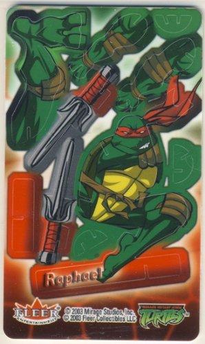 TMNT Trading Card - 3D Model Raphael (B) - Teenage Mutant Ninja Turtles - Fleer