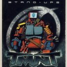 TMNT Fleer Series 2 Trading Card - Nano-Monster Stand-Up - Shredder Strikes - Ninja Turtles