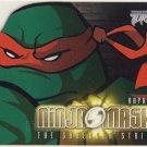 TMNT Fleer Series 2 Trading Card - Raphael Ninja Mask - Shredder Strikes - Ninja Turtles