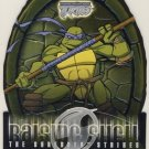 TMNT Fleer Series 2 Trading Card - Raising Shell #01 Donatello - Shredder Strikes - Ninja Turtles