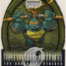 TMNT Fleer Series 2 Trading Card - Raising Shell #05 Michelangelo - Shredder Strikes - Ninja Turtles
