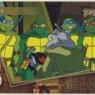 TMNT Fleer Series 2 Trading Card - Gold Parallel #44 - The Shredder Strikes - Ninja Turtles