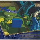 TMNT Fleer Series 2 Trading Card - Gold Parallel #46 - The Shredder Strikes - Ninja Turtles