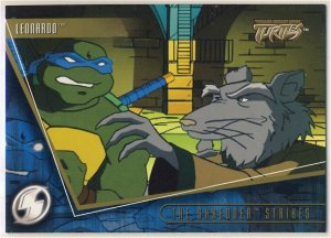 TMNT Fleer Series 2 Trading Card - Gold Parallel #52 - The Shredder Strikes - Ninja Turtles