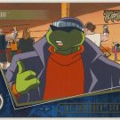TMNT Fleer Series 2 Trading Card - Gold Parallel #62 - The Shredder Strikes - Ninja Turtles
