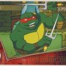 TMNT Fleer Series 2 Trading Card - Gold Parallel #71 - The Shredder Strikes - Ninja Turtles
