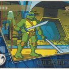 TMNT Fleer Series 2 Trading Card - Gold Parallel #75 - The Shredder Strikes - Ninja Turtles
