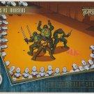 TMNT Fleer Series 2 Trading Card - Gold Parallel #84 - The Shredder Strikes - Ninja Turtles
