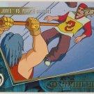 TMNT Fleer Series 2 Trading Card - Gold Parallel #85 - The Shredder Strikes - Ninja Turtles