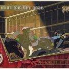 TMNT Fleer Series 2 Trading Card - Gold Parallel #94 - The Shredder Strikes - Ninja Turtles