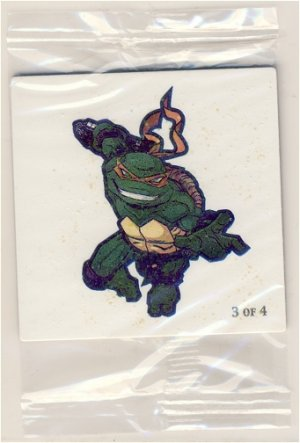 Michaelangelo Airheads Tattoo #3 of 4 - TMNT - Teenage Mutant Ninja Turtles