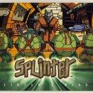 TMNT Fleer Series 1 Trading Card - Gold Parallel #05 - Splinter - Ninja Turtles