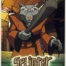 TMNT Fleer Series 1 Trading Card - Gold Parallel #06 - Splinter - Ninja Turtles