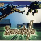 TMNT Fleer Series 1 Trading Card - Gold Parallel #15 - Donatello - Ninja Turtles