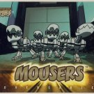 TMNT Fleer Series 1 Trading Card - Gold Parallel #67 - Mousers - Ninja Turtles
