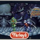 TMNT Tournament Fighters Trading Card #2 NES - Farley's Fruit Snacks - Ninja Turtles
