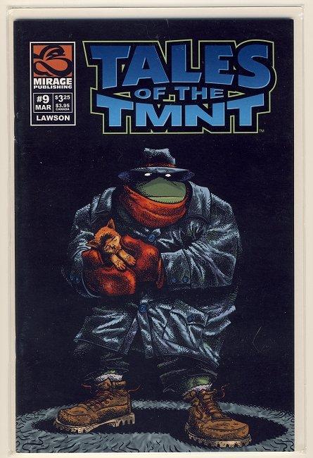 Tales of the TMNT Vol. 2 #9 Comic Book - Ninja Turtles