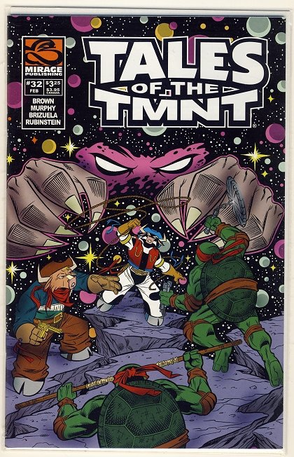 Tales of the TMNT Vol. 2 #32 Comic Book - Ninja Turtles