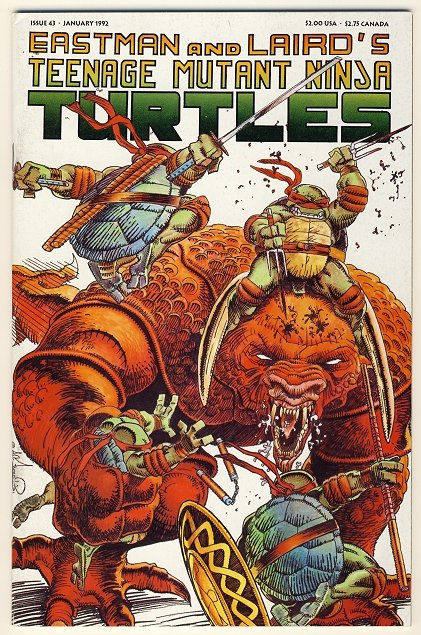 Teenage Mutant Ninja Turtles Vol. 1 #43 Comic Book - TMNT