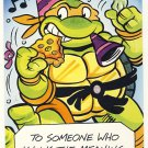 Michaelangelo Birthday Greeting Card - Ninja Turtles - TMNT