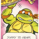 Michaelangelo Get Well Soon Greeting Card - Ninja Turtles - TMNT