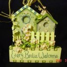 """""""Every Birdie Welcome""""  Sign-Wall Decoration"""