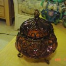 Decorative Glass- Votive,Tea Light or larger Candle Holder, Candy dish
