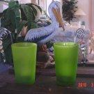 Nautical Decoration Candles Green Glass Tea lights