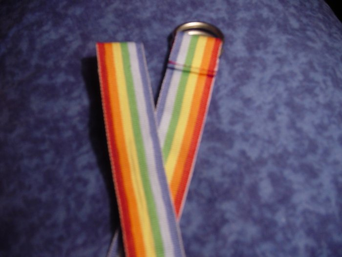 Rainbow D-hoop belt