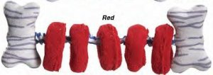 Zanies Tug-a-Rings (red)