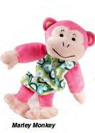 Zanies Pet Squad Marley Monkey