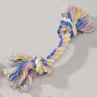 Zanies Pastel Rope Bones 8.5 inch