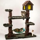 Meow Town Kitty Treehouse Hideaway