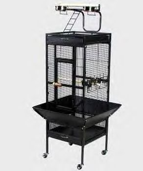 "Signature Select Cage- Black (18 X 18 X 57"")"