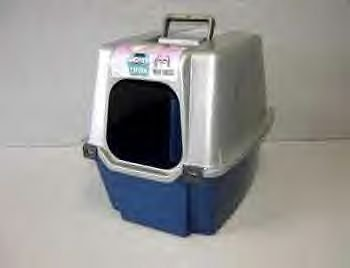 Cat Pan With Hood Enclosure - Large