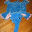 Restore & Restyle Kids Blue Elephant Blanket Mat Rug