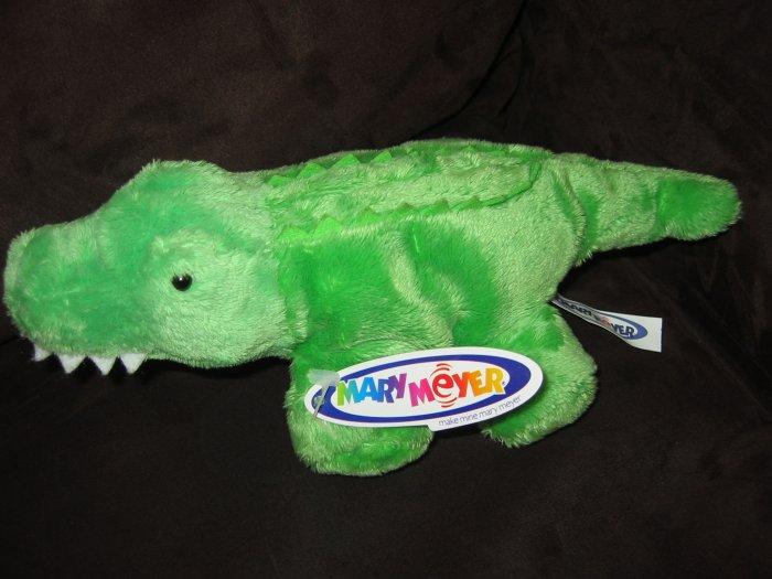 "Mary Meyer Plush 10"" Alligator Crocodile named Gator Belly"