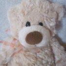 Gund  14 Inch Tan Teddy Bear Named Manni # 15015