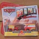 Disney Pixar Cars Mini Adventures Lightning McQueens Team Sarge & Fillmore