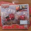 Disney Pixar Cars Mini Adventures Fire Dept Red & Lizzie